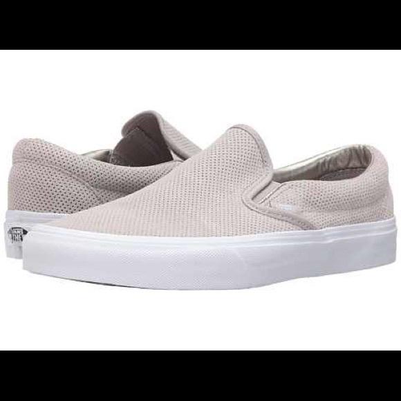 vans Shoes   New Perf Suede Slip Ons